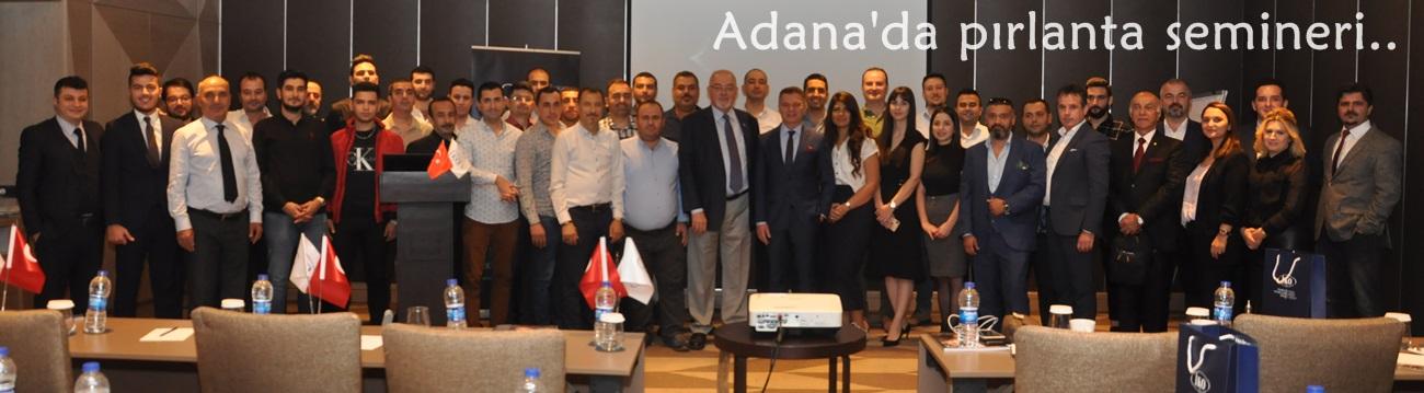 Adana'da pırlanta semineri