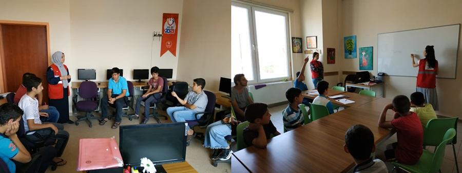 Kızılay'dan İpekyol G.M. Gençlerine Ergen Psikolojisi Eğitimi
