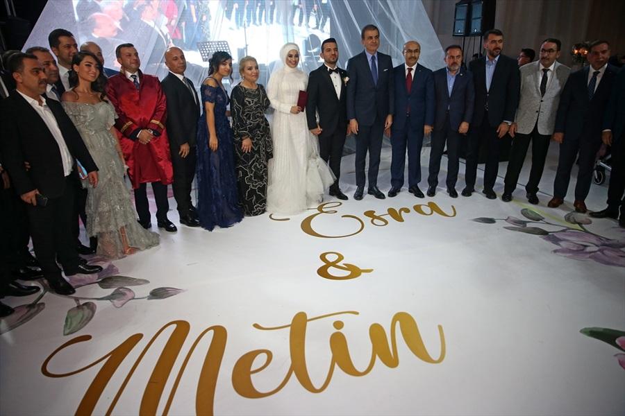AK Parti Sözcüsü Ömer Çelik Adana'da nikah şahidi oldu