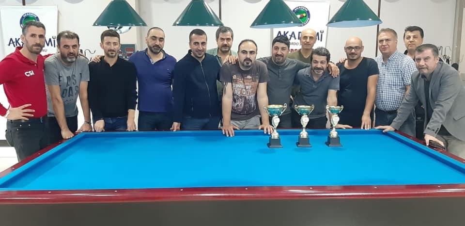 Adana Akademi Bilardo Spor Salonu 7.DOSTLUK turnuvası sona erdi..