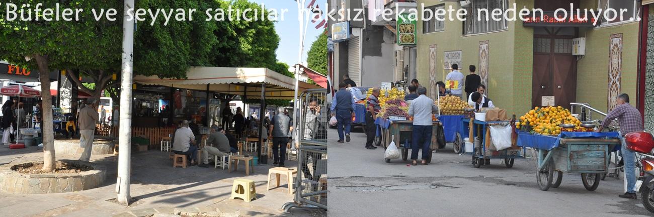 Başkan Sözütek: Büfeler ve seyyar satıcılar haksız rekabete neden oluyor..