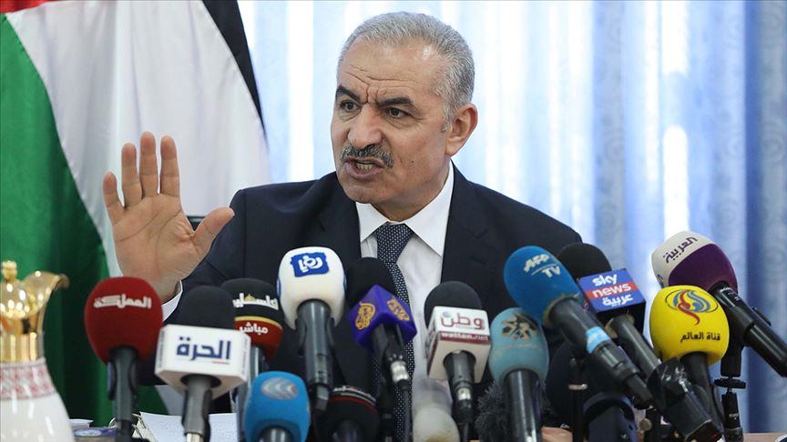 Filistin Başbakanı Iştiyye: ABD'nin kararı uluslararası kanunların hafife alınması anlamına geliyor