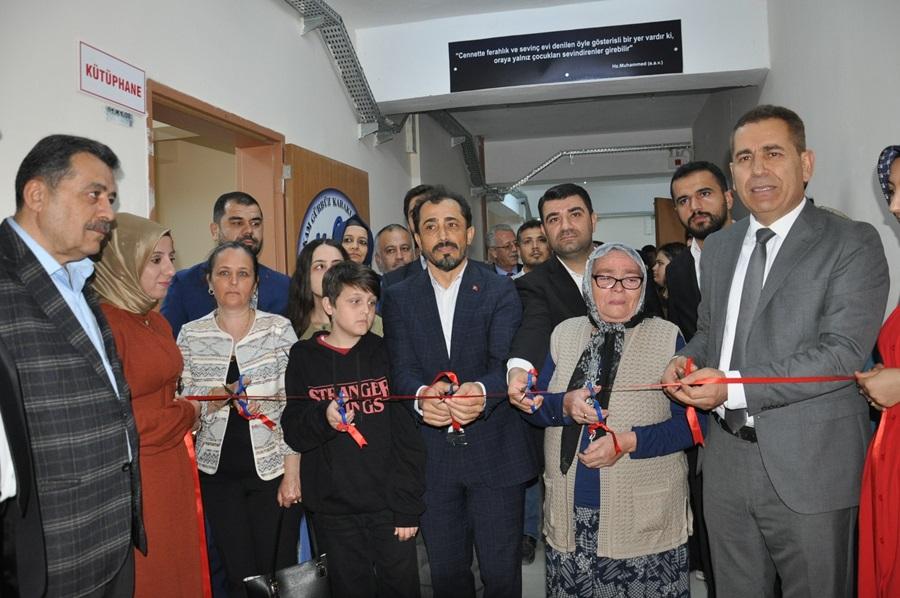 Şehit polis Ercan Günay'ın adı verilen Z Kütüphane açıldı