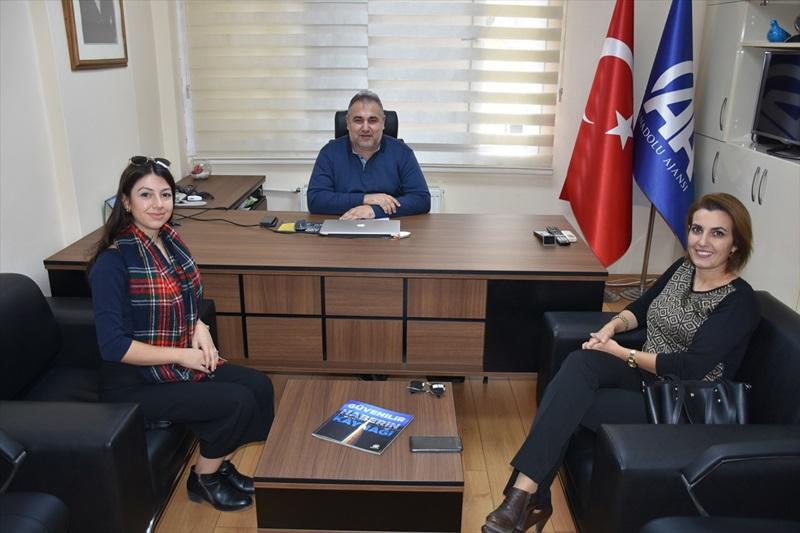 LÖSEV Adana İl Koordinatörü Öz'den AA'ya ziyaret