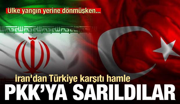 Ortalık yangın yerine dönmüşken İran'dan Türkiye karşıtı hareket