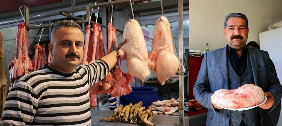 Adana'da 50 liraya çıkan kuyruk yağı et fiyatıyla yarışıyor..