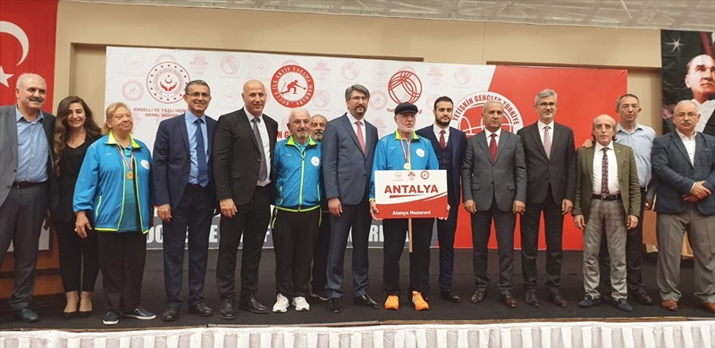 """""""4. Yetişkin Gençler Türkiye Bocce Finali"""" Antalya'da yapıldı"""