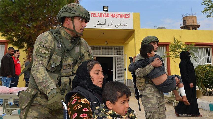 Tel Abyad Hastanesi onarıldı