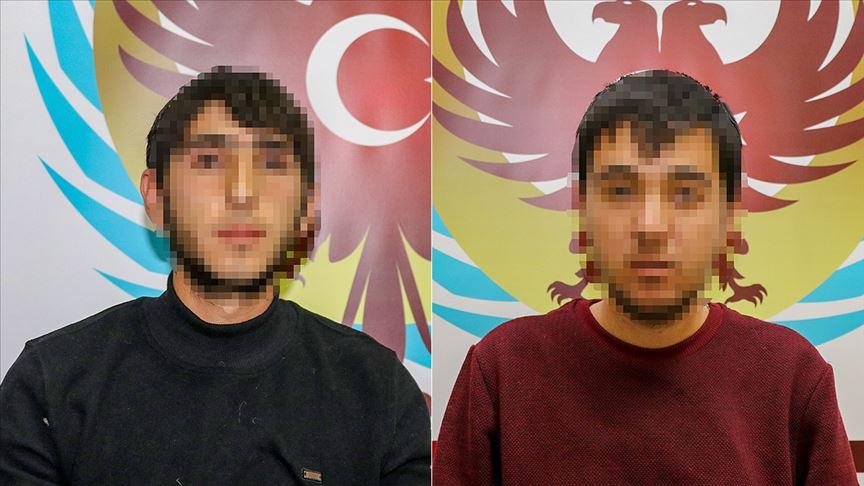 Teslim olan PKK'lı 2 terörist örgütte yaşadıklarını anlattı