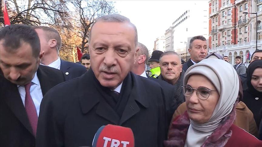 Erdoğan: NATO Zirvesi'nde Barış Pınarı Harekatı'ndaki gelişmeleri değerlendireceğiz