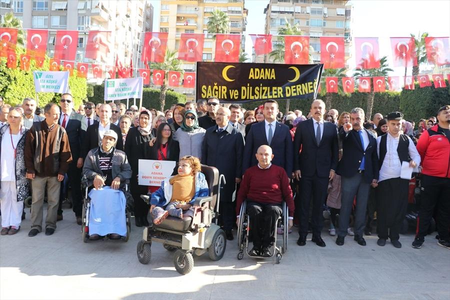 Çukurova'da 3 Aralık Dünya Engelliler Günü Etkinlikleri