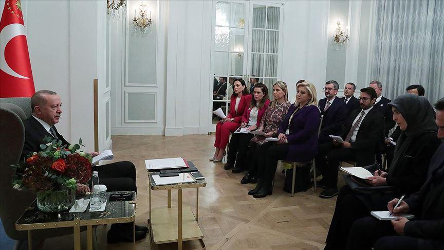 Erdoğan: Dörtlü zirveyi en az yılda bir kez yapmayı karara bağladık