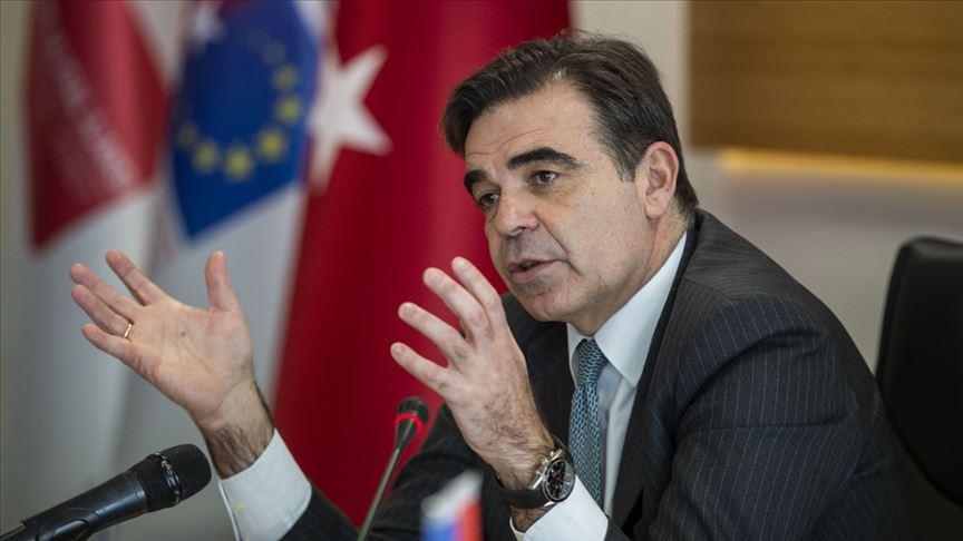 Türkiye'yi ziyaret eden AB heyeti, ilişkilerin önemini vurguladı
