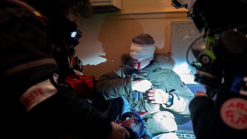 AA Genel Müdürü Kazancı, Fransız polisinin foto muhabiri Yalçın'ı yaralamasını kınadı