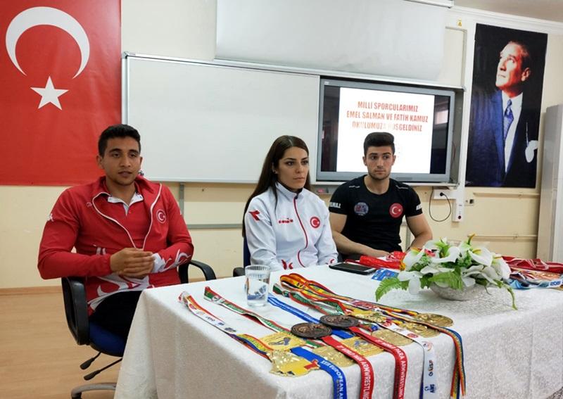 Dünya Şampiyonu Bilek Güreşçimiz Adanalı Fatih Kamuz'a, Gaziantep'ten Davet