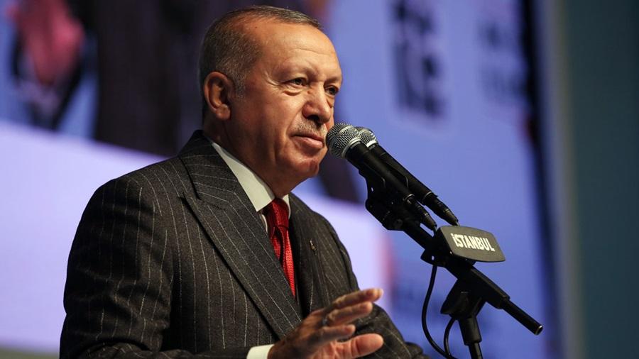 Erdoğan: Akıl, izan ve vicdan sahibi herkesi, bu skandala tepki göstermeye çağırıyoruz