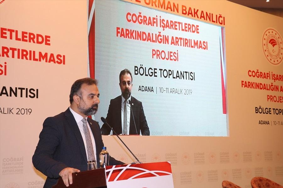 """Adana'da """"coğrafi işaret"""" anlatıldı"""