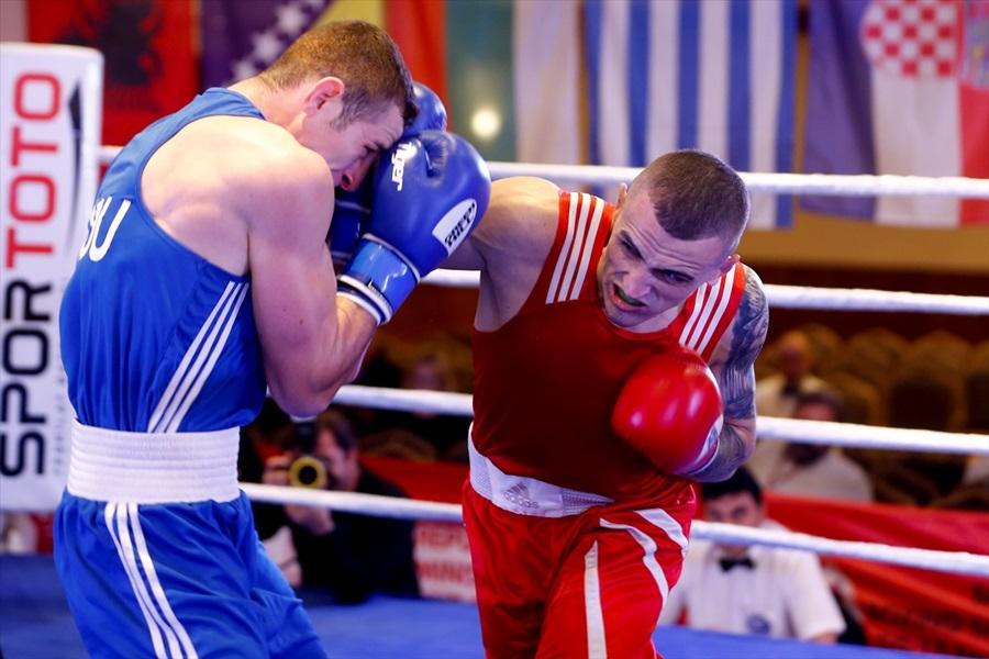 Balkan Büyükler Boks Şampiyonası'nda 2 Türk sporcu çeyrek finalde
