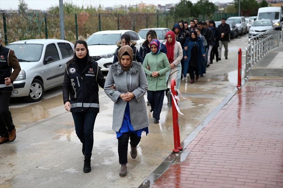 Adana merkezli FETÖ/PDY operasyonunda yakalanan 14 zanlı serbest bırakıldı