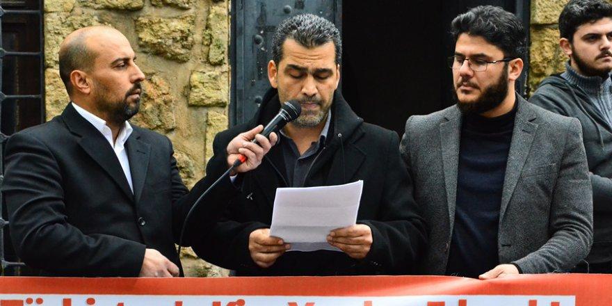 Adana'da, Doğu Türkistan'da yaşanan zulüm protesto edildi.