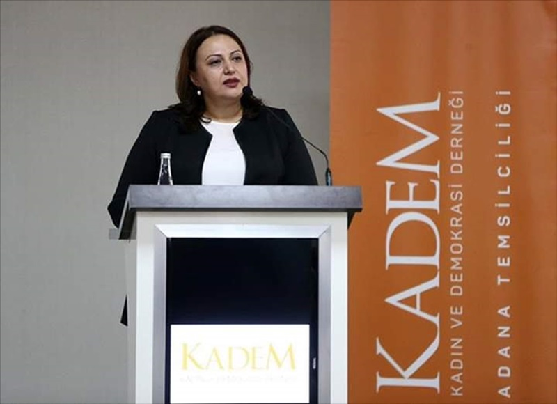 Adana'da, KADEM'den engelli çocuk sahibi kadınlara ilk yardım eğitimi