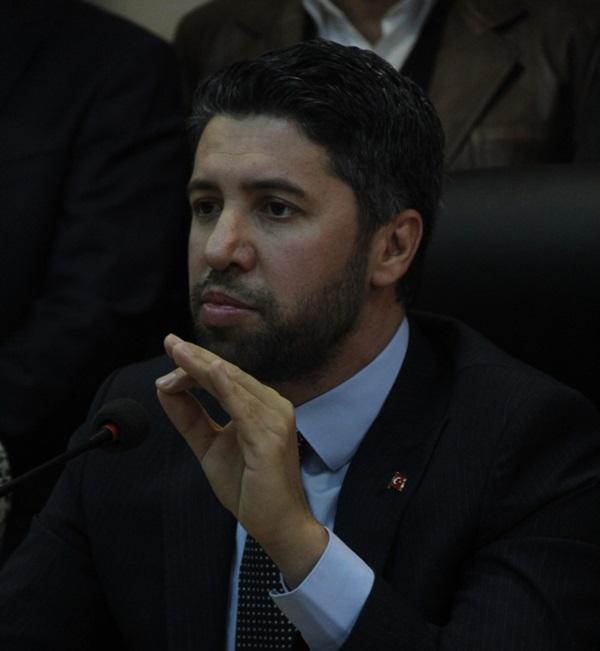 AK Parti il başkanlığına atanan Mehmet Ay, yönetim kurulunu oluşturdu