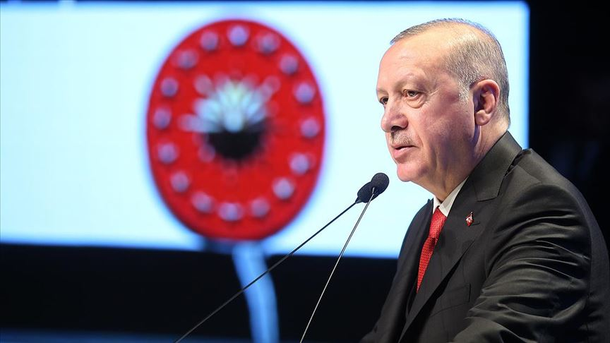 Erdoğan: Kovid 19 ile mücadelemizi milletimizle birlikte kararlılıkla sürdürüyoruz