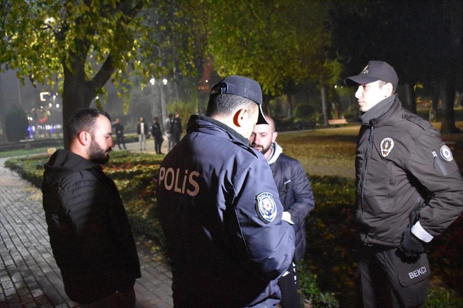 Adana'da helikopter destekli asayiş uygulaması..
