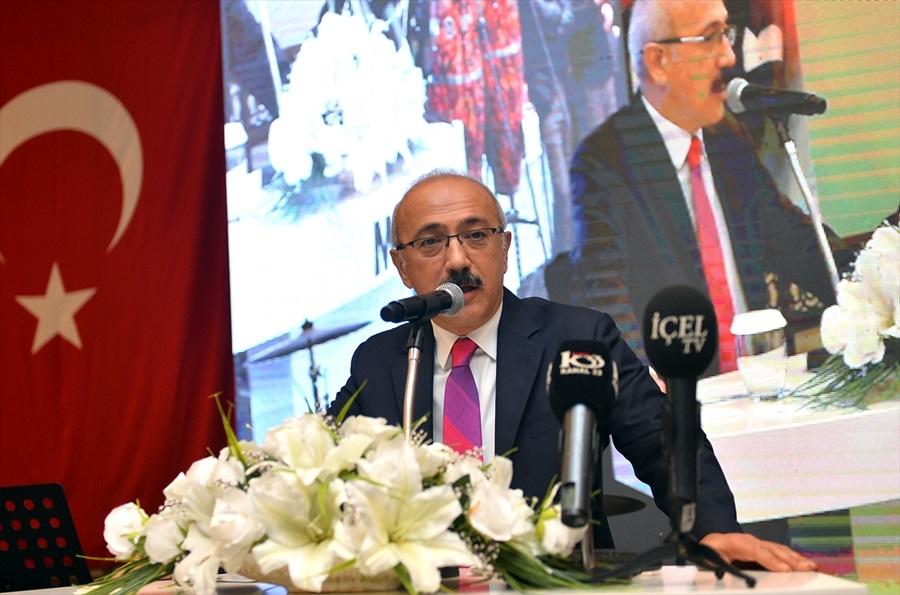 TBMM Plan ve Bütçe Komisyonu Başkanı Elvan Mersin'de