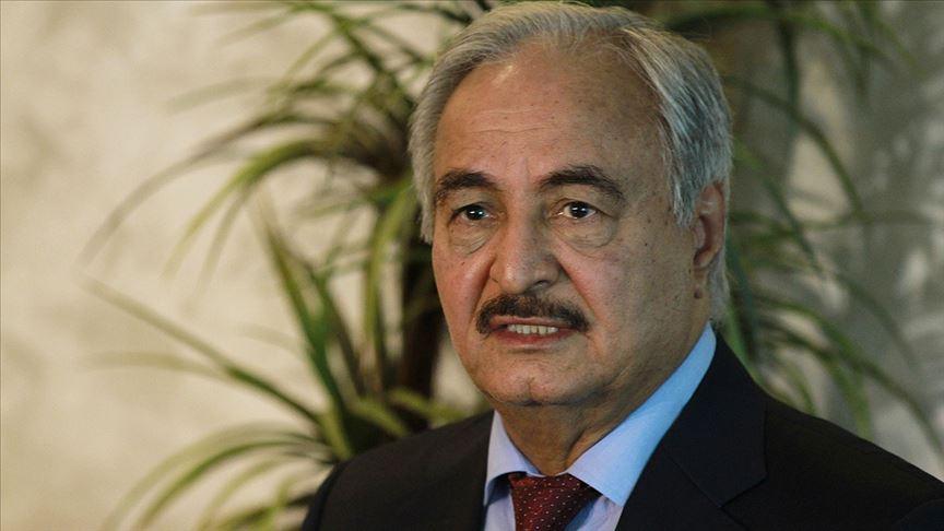 Hafter, Libya'da barışa 'hayır' dedi
