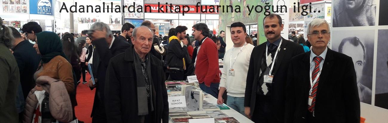 Adanalılardan kitap fuarına yoğun ilgi