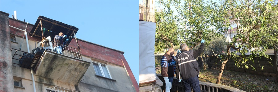 Adana'da 5. kattaki evinin balkonundan düşen kişi öldü