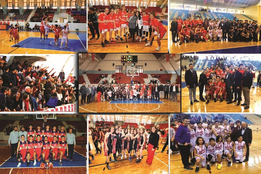 Okullar arası Basketbol İl Birinciliği Müsabakaları Tamamlandı