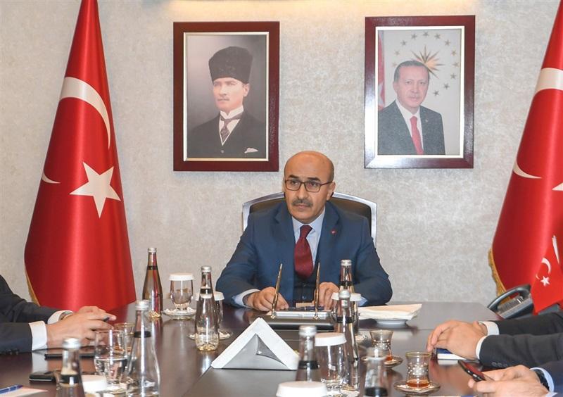 """Vali Demirtaş: """"Her işi devletimiz ve milletimiz adına yapıyoruz"""""""
