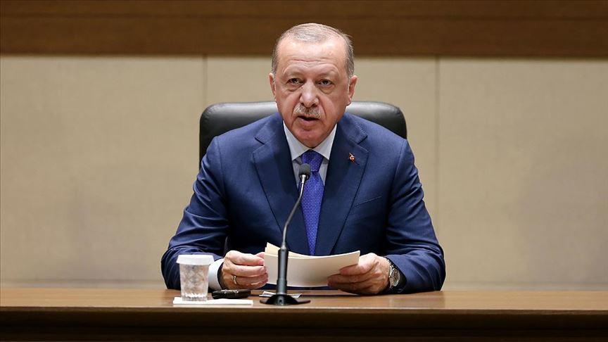 Erdoğan: Libya'da akan kanın durması için mücadele etmeyi sürdüreceğiz