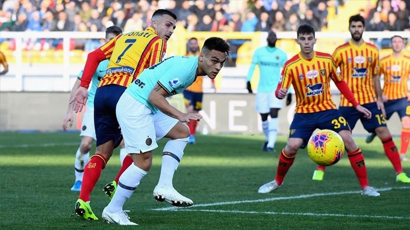 Inter, Lecce deplasmanında puan kaybetti