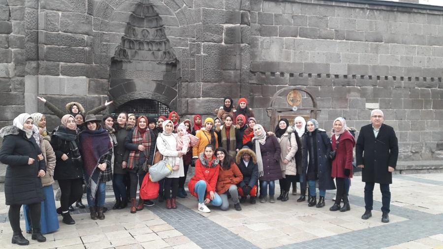 ÇUDER Çukurova Uluslararası Öğrenci Derneği Kültür Gezisi