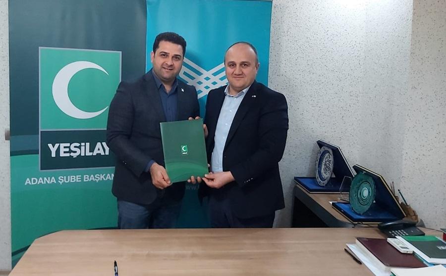 TÜGVA Adana ile Yeşilay'dan işbirliği protokolü