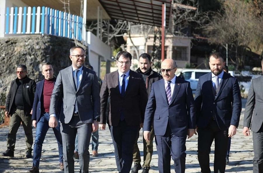 Vali Demirtaş'tan Aladağ'a ziyaret