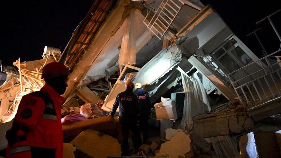 AFAD: Depremde ölenlerin sayısı 21'e yükseldi, yaralı sayısı 1030