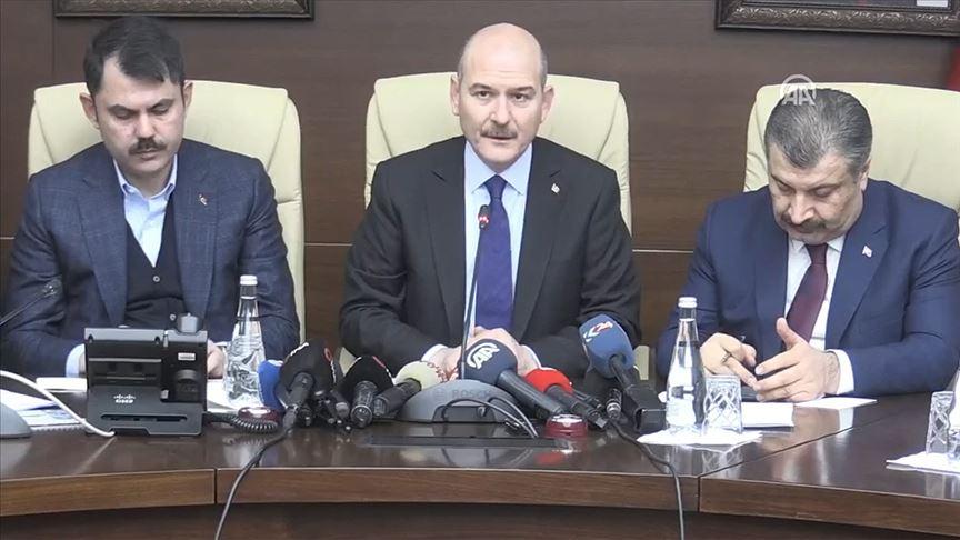 Soylu: Malatya'da 4, Elazığ'da 18 vatandaşımız hayatını kaybetti