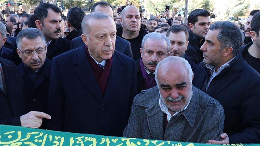 Erdoğan: Geçmişten bu yana birçok depremler yaşadık ama bu millet sabırla bunları aşmasını bildi