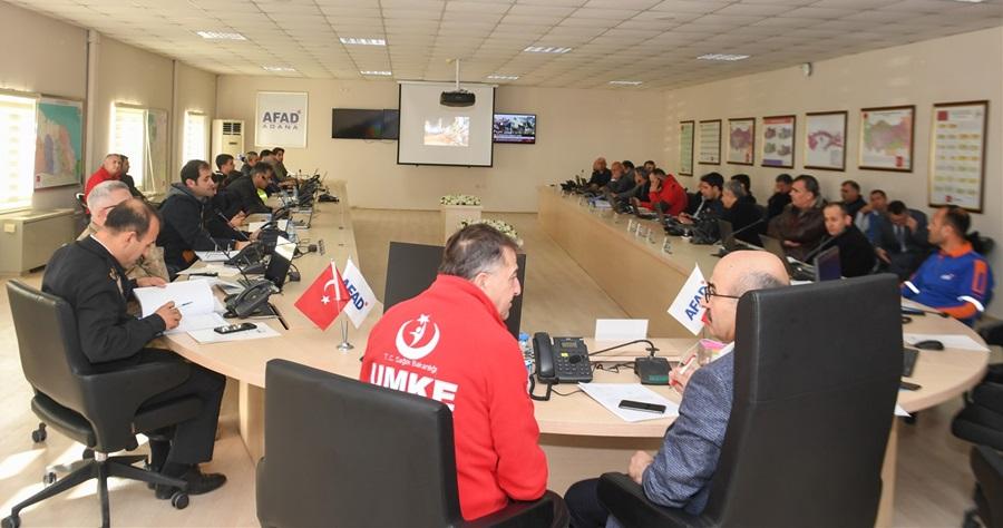 Vali Demirtaş AFAD'ı Ziyaret Ederek Elazığ'a Gönderilen Yardımlar Hakkında Bilgiler Aldı