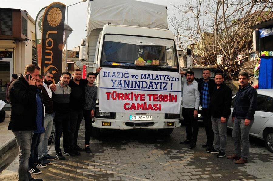 Depremzedelere Adana, Hatay ve Mersin'den yardım