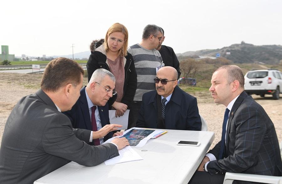 Vali Demirtaş Ceyhan OBS'nin Altyapı Çalışmalarını İnceledi