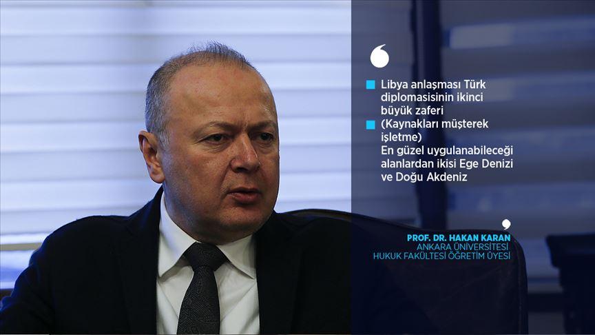 Deniz hukuku uzmanı Karan'a göre 'Libya anlaşması Türk diplomasisinin ikinci büyük zaferi'