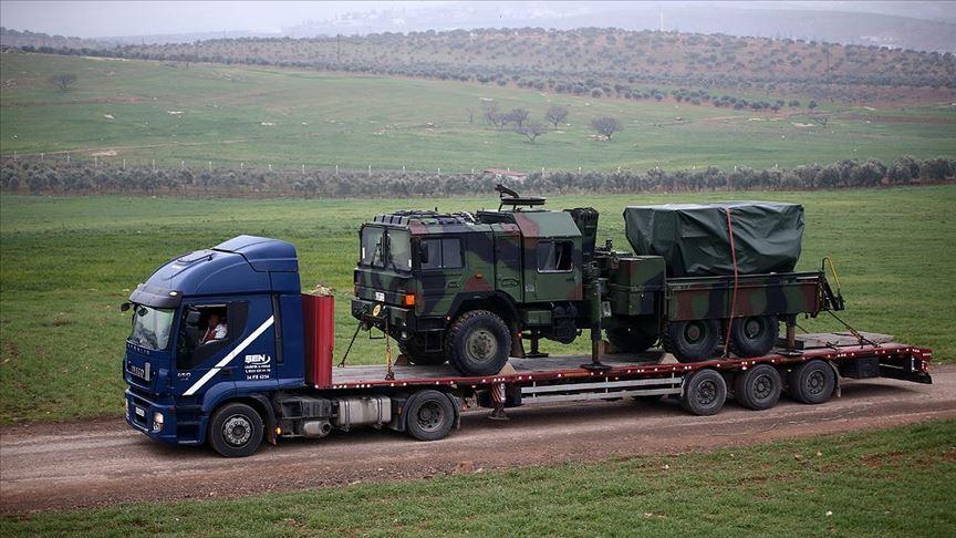 Çok namlulu roketatarlar Suriye sınırına konuşlandırıldı