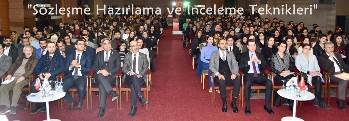 """Adana'da, """"Sözleşme Hazırlama ve İnceleme Teknikleri"""" konulu seminer düzenlendi"""