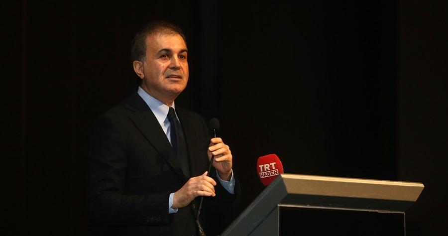 Ömer Çelik Çukurova Üniversitesi Açılış ve Temel Atma Töreni'nde konuştu..