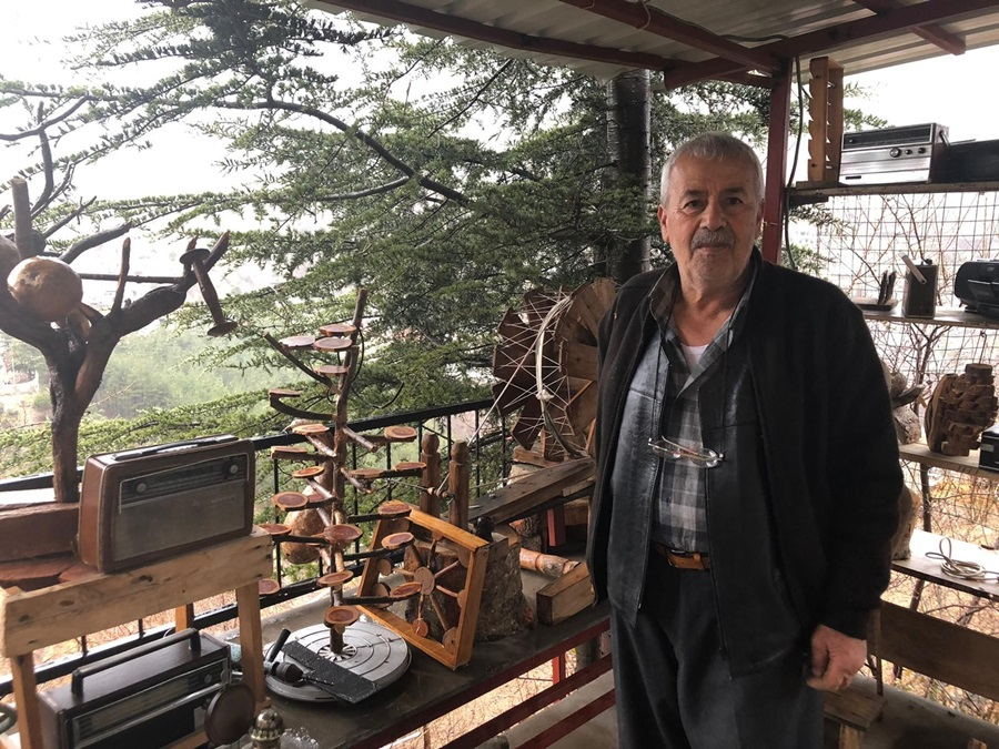Toros Dağı eteklerinde açık hava müzesi